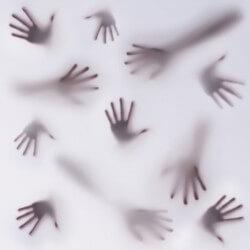 Vinil decorativo mãos