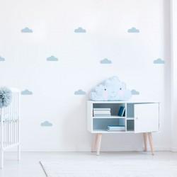 Autocolantes de parede nuvens