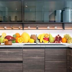 Papel pintado frutas