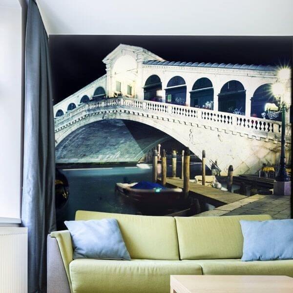 Mural de parede ponte Rialto
