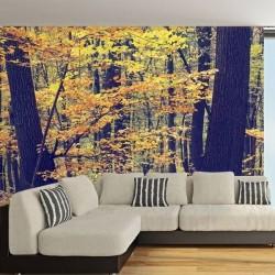 Papel pintado floresta outono