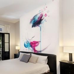Mural de parede pintura...