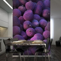 Mural frutos silvestres