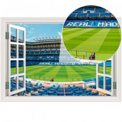 Autocolante janela falsa Real Madrid