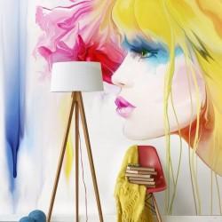 Papel de parede ilustração...