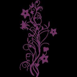 Vinil floral 9