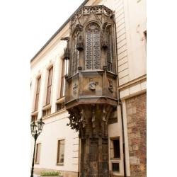 Mural de parede janela gótica