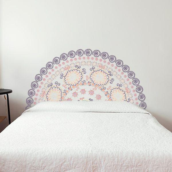 Cabeceira de cama mandala