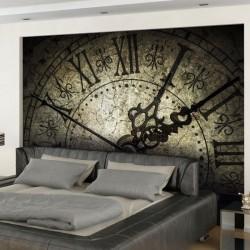 Vinil de parede relógio antigo