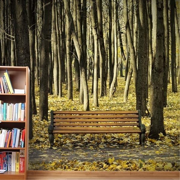 Papel pintado paisagem do outono