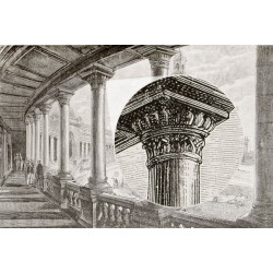 Mural decorativo palácio de Chaillot