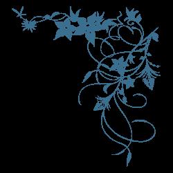 Autocolante flores narcisos