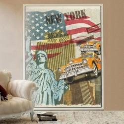 Vinil para móveis New York...