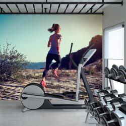 Foto mural Running