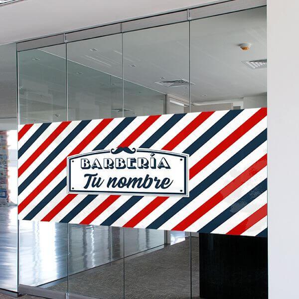 Vinil reclame barbearia personalizado