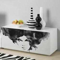 Vinil móveis pintura branco...