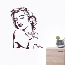 Vinil decorativo Marilyn...