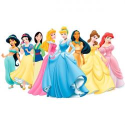 Autocolante princesas da Disney