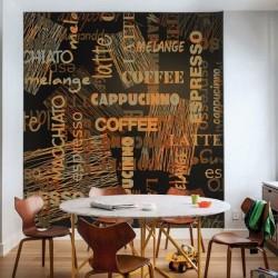 Papel pintado café idiomas
