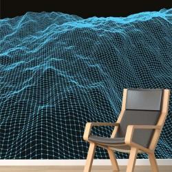 Papel de parede montanhas 3D