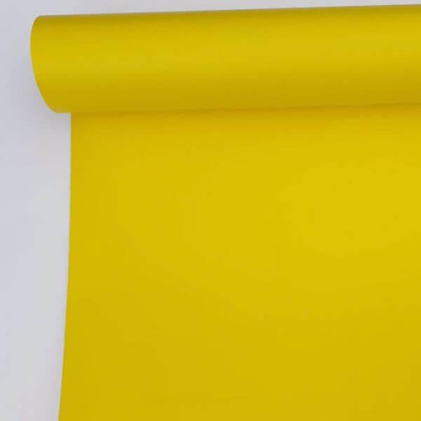 Vinil amarelo limão mate