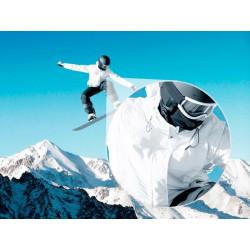 Foto mural snowboard