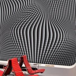 Mural de parede perspectiva 3D