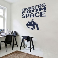 Vinil invaders from space