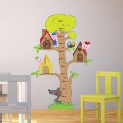 Vinil infantil árvore 3...