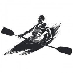 Vinil de desporto canoagem