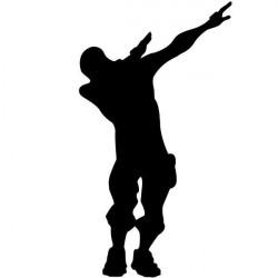 Autocolante dança Fortnite