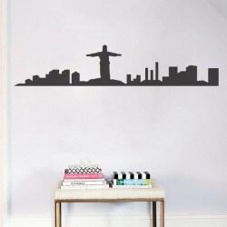 Vinil de skyline Rio de...