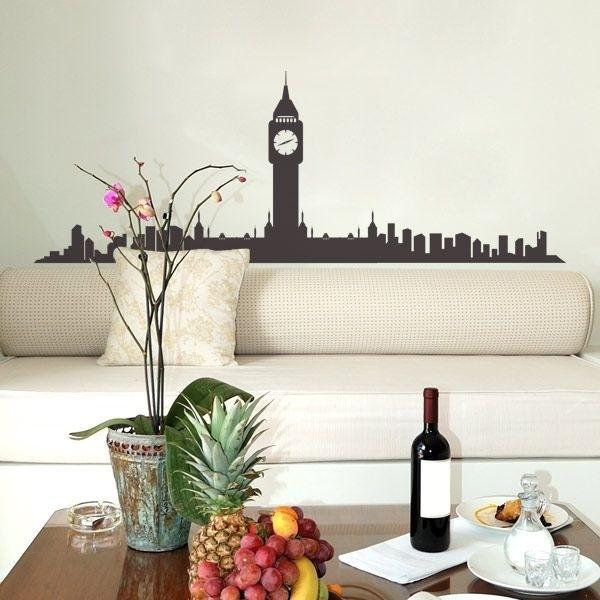 Vinil de skyline Big Ben
