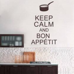 Vinil decorativo keep calm