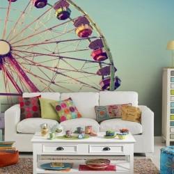 Papel pintado roda gigante 1