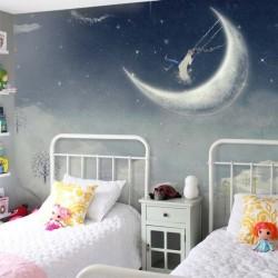 Papel de parede paraíso lunar