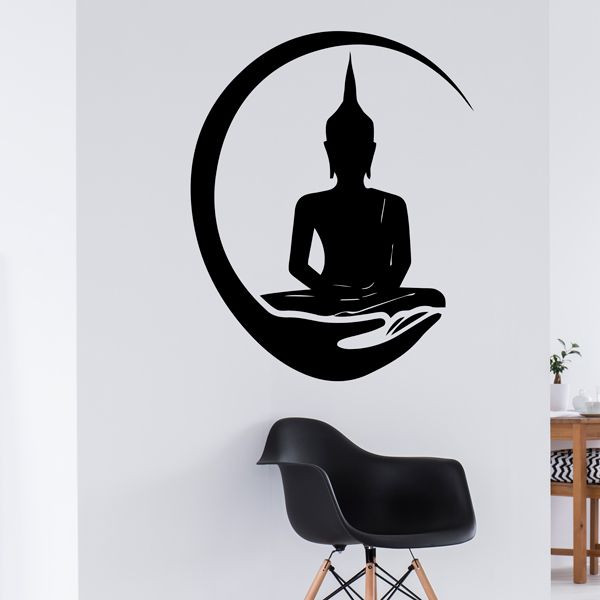 Autocolante Zen Buddha