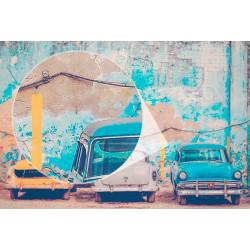 Foto mural carros Cuba