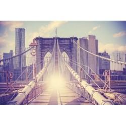 Mural de parede ponte Brooklyn