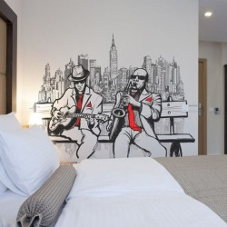Papel de parede New York jazz