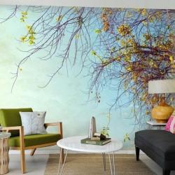 Mural chegou a primavera