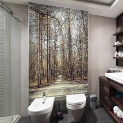 Foto mural caminho na floresta