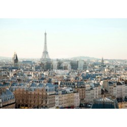 Mural cidade de Paris
