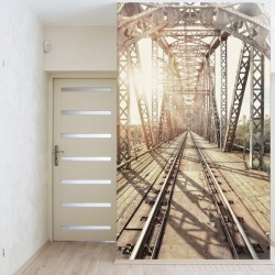 Vinil ponte de comboios