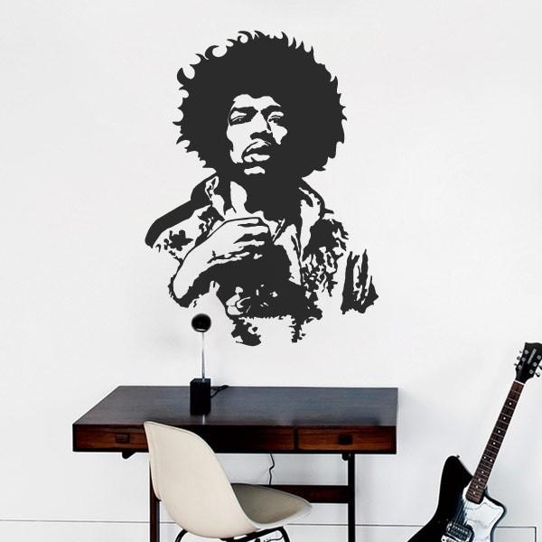 Vinil de parede Jimmy Hendrix