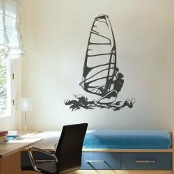 Vinil de desporto windsurf
