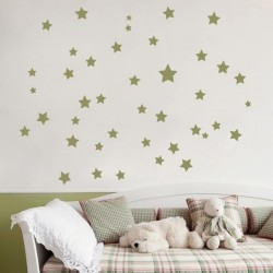 Vinil infantil estrelas