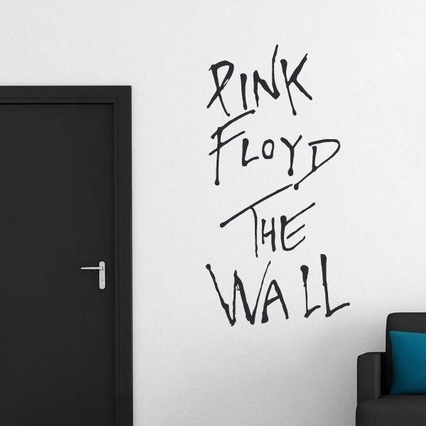 Autocolante decorativo Pink Floyd