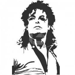 Adesivo Michael Jackson 3