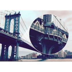 Mural decorativo ponte de Manhattan